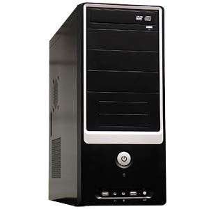 PC-Komplettsystem, AMD FX-4300 JOY-IT FX4300-BASE