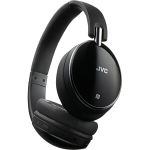 On-Ear Kopfhörer, Bluetooth, NFC, Noise Cancelling JVC HA-S90BN-B-E