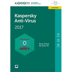 Kaspersky Anti-Virus 2017 Upgrade KASPERSKY KL1171GBAFR