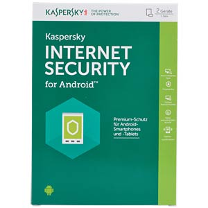 Kaspersky Internet Security - 2 Android Devices KASPERSKY KL1091GBBFS-6