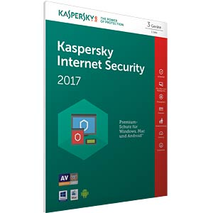 Kaspersky Internet Security 2017 3 Liz. KASPERSKY KL1941GBCFS-7