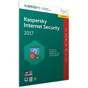 Kaspersky Internet Security 2017 3 Dev. Upgrade KASPERSKY KL1941GBCFR-7