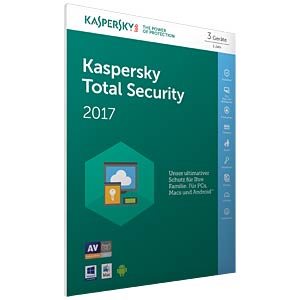 Kaspersky Total Security Multi-Device 2017 KASPERSKY KL1919GBCFS-7