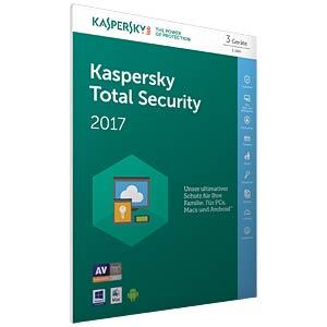 Kaspersky Total Security Multi-Device 2017 KASPERSKY KL1919GBCFS-7