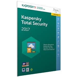 Kaspersky Total Security Multi-Device 2017 KASPERSKY KL1919GBCFR-7