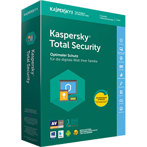 Software, Total Security 2018 KASPERSKY KL1919G5CFS-8