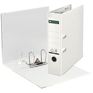 Leitz 180° Lever Arch File Plastic, white LEITZ 10105001