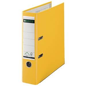 Qualitäts Ordner PP 180° A4, 80 mm, gelb LEITZ 10105015