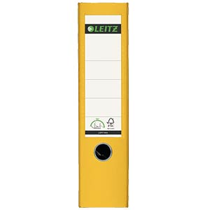 Qualitäts-Ordner PP 180° A4 gelb LEITZ 10105015