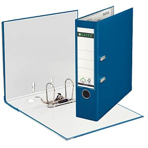 Qualitäts-Ordner PP 180° A4 / 80 mm / blau LEITZ 10105035