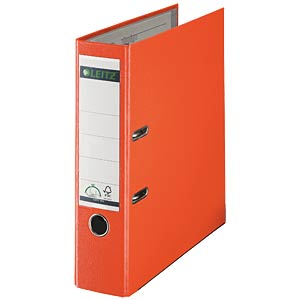 Qualitäts Ordner PP 180° A4, 80 mm, orange LEITZ 10105045