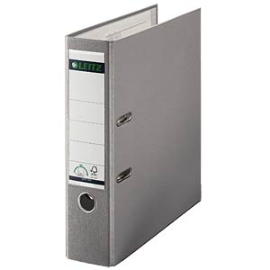 Qualitäts-Ordner PP 180° A4 / 80 mm / grau LEITZ 10105085