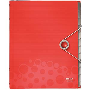 Leitz Bebop Divider Book, red LEITZ 45700025
