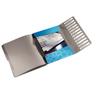 Leitz Bebop Divider Book, blue LEITZ 45700037