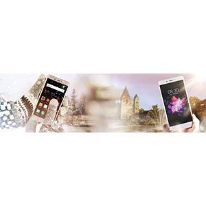 "Smartphone, 12,70 cm (5,0"") IPS-Display, 16GB, sunrise Gold NEFFOS TP902A44EU"