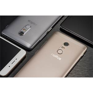 "Smartphone, 12,70 cm (5,0"") IPS-Display, 16GB, sunrise Gold NEFFOS TP902A44EU"