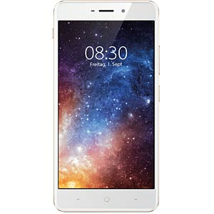 "Smartphone, 13,97 cm (5,5"") IPS-Display, 32GB, sunrise Gold NEFFOS TP903A46EU"