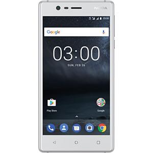 "Smartphone, 12,70 cm (5,0"") IPS-LCD, 16GB, silber NOKIA 11NE1S01A03"