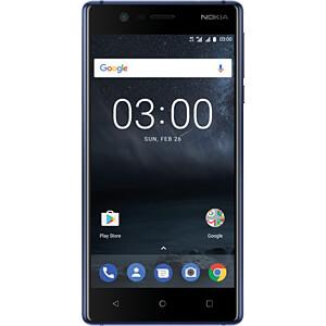 "Smartphone, 12,70 cm (5,0"") IPS-LCD, 16GB, blau NOKIA 11NE1L01A02"