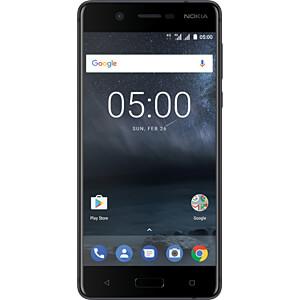 "Smartphone, 13,20 cm (5,2"") IPS-LCD, 16GB, mattschwarz NOKIA 11ND1B01A02"