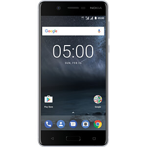 """Smartphone, 13,20 cm (5,2"""") IPS-LCD, 16GB, silber NOKIA 11ND1S01A02"""