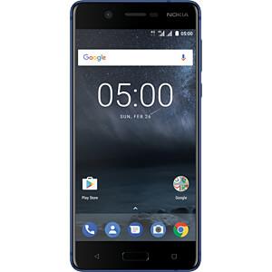 "Smartphone, 13,20 cm (5,2"") IPS-LCD, 16GB, blau NOKIA 11ND1L01A01"