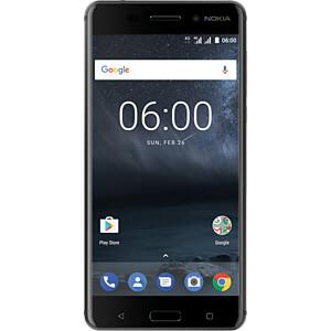"Smartphone, 13,97 cm (5,5"") IPS-LCD, 32GB, mattschwarz NOKIA 11PLEB01A14"