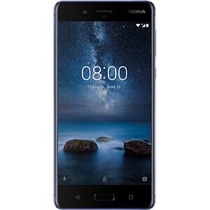 "Smartphone, 13,46 cm (5,3"") IPS-LCD, 64GB, blau glänzend NOKIA 11NB1L01A03"