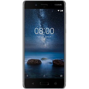 """Smartphone, 13,46 cm (5,3"""") IPS-LCD, 64GB, silber NOKIA 11NB1S01A02"""