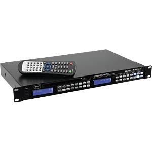 OMNI 11045011 - CD-/MP3-Player mit RDS-Tuner und USB-Schnittstelle