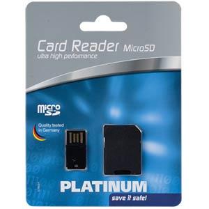 MicroSDHC card reader PLATINUM 177603