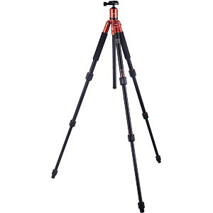 Aluminium Tripod, orange ROLLEI 22501