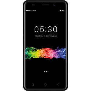 """Smartphone, 12,70 cm (5,0"""") TFT, 8GB, schwarz SWISSTONE 450402"""