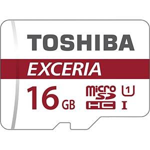 MicroSDHC-Speicherkarte 16GB - Toshiba UHS-1 (U1) TOSHIBA THN-M302R0160EA