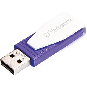 USB-Stick, USB 2.0, 64 GB, Swivel VERBATIM 49816