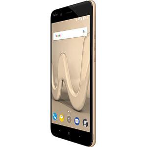 Smartphone, 12,7 cm (5), Dual-SIM, gold WIKOMOBILE WIKHARRY4GGOLST