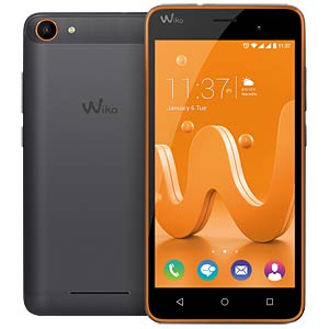 Wiko Jerry black / orange WIKOMOBILE 9686
