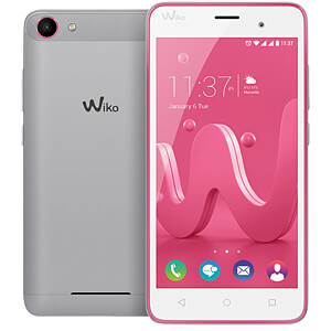Wiko Jerry pink / silber WIKOMOBILE 9684