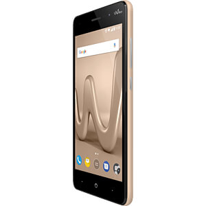Smartphone, 12,7 cm (5), Dual-SIM, gold WIKOMOBILE WIKLENNY4GOLST