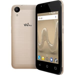 Smartphone, 10,16 cm (4), Dual-SIM, gold WIKOMOBILE WIKSUNNY2GOLST