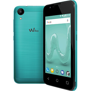 Smartphone, 10,16 cm (4), Dual-SIM, türkis WIKOMOBILE WIKSUNNY2BLEST