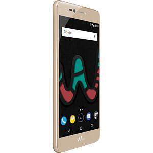 Smartphone, 13,2 cm (5,2), Dual-SIM, gold WIKOMOBILE WIKUPULIT4GGOLST