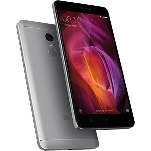Redmi Note 4 32GB Android 6.0 grau XIAOMI 820077400010-A