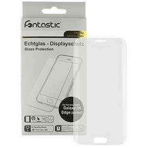 Schutzglas 1 Stück für Samsung Galaxy S6 Edge Curved FONTASTIC 184246