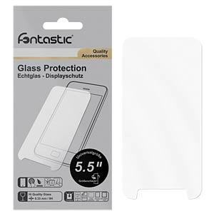 """Schutzglas 1 Stück Universal 5,5"""" FONTASTIC 214660"""