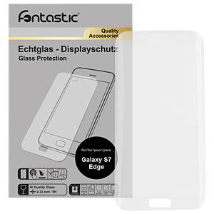 Schutzglas, 1 Stück, für Samsung Galaxy S7 Edge Curved FONTASTIC 434259