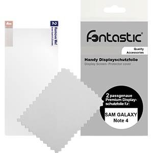 Schutzfolie, 2 Stück, für Samsung Galaxy Note 4 FONTASTIC 519598