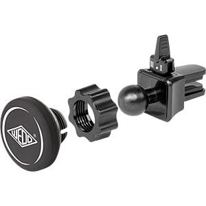 Kfz Magnethalterung, universal, für Lüftungsschacht WEDO 60 06001