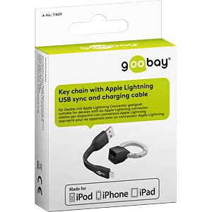 Lightning USB Sync- & Ladekabel GOOBAY 71809