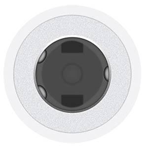 Lightning naar 3,5-mm adapter voor het aansluiten van de koptele APPLE MMX62ZM/A